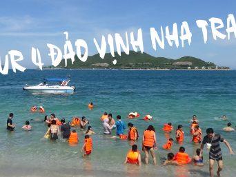 Du Ngoạn Vịnh Nha Trang tour 4 đảo