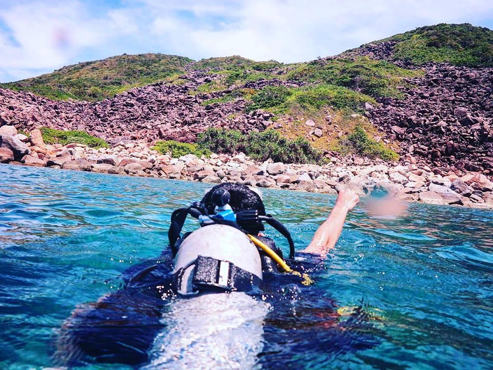 lan-bien-2 Thú Vui Lặn Biển Khám Phá Đại Dương Vịnh Nha Trang Cẩm Nang Chưa được phân loại Đia Danh Du Lịch Tin Tức  Scuba Diving Lặn Biển Hòn Mun