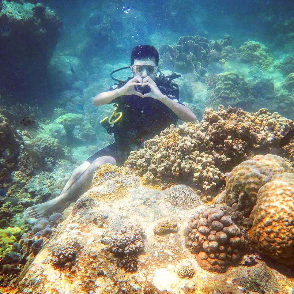 lan-bien-3 Thú Vui Lặn Biển Khám Phá Đại Dương Vịnh Nha Trang Cẩm Nang Chưa được phân loại Đia Danh Du Lịch Tin Tức  Scuba Diving Lặn Biển Hòn Mun