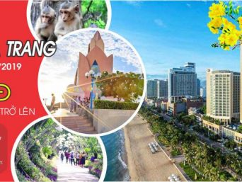 Tour Tết Nguyên Đán 2019: Sài Gòn- Nha Trang - Sài Gòn 4n3d ( 3al)
