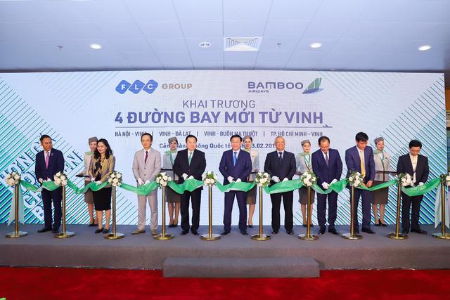 Bamboo Airways chính thức khai trương 4 đường bay từ Vinh           - Ảnh 4.
