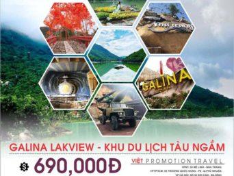 Tour Nha Trang Hàng Ngày: Galina Lakeview - Khu Du Lịch Tàu Ngầm