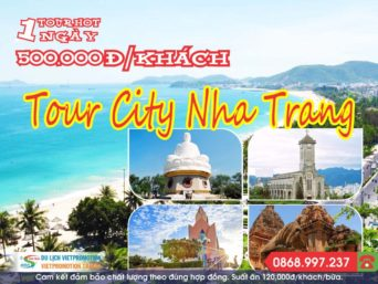 TOUR THAM QUAN NHA TRANG CITY 1 NGÀY