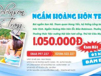 TOUR: NGẮM HOÀNG HÔN TRÊN ỐC ĐẢO ROBINSON