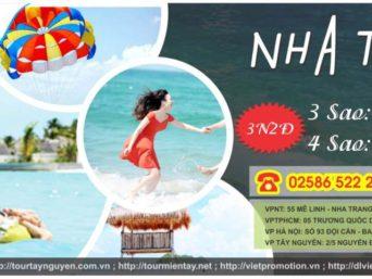 TOUR: NHA TRANG – VINPEARL – 4 ĐẢO – CITY TOUR 3N2Đ