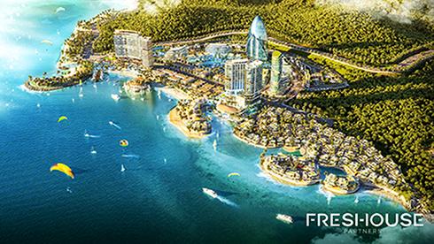 Phối cảnh dự án Vega City.