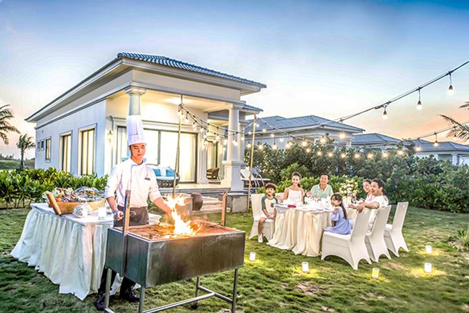 Khách nghỉ dưỡng  tại Vinpearl Nha Trang.