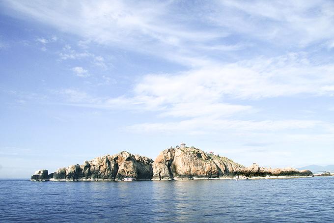 Biển đảo Nha Trang tuyệt đẹp.