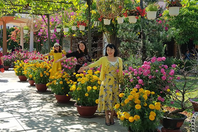 Thưởng ngoạn, chụp ảnh tận hưởng sắc xuân bên những loài hoa đẹp.