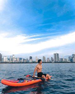 Trải Nghiệm Chèo Thuyền Sup tại biển Nha Trang